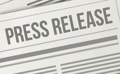Заголовок пресс-релиза компании для журналистов