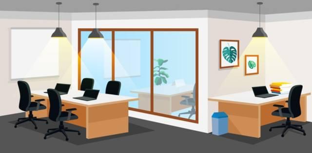 Офис бизнесмена в 2021 году