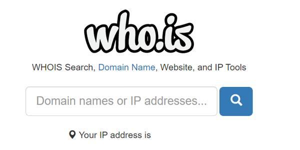 Проверка доступности доменного имени через сервис whois
