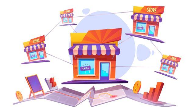 Сетевая структура бизнеса по системе франчайзинга